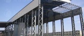 Изграждане на метални халета в Търговище