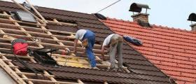 Изграждане на покриви в област Сливен