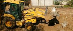 Изкопни работи в София-Люлин