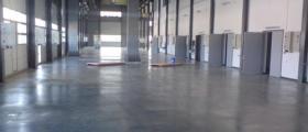 Изработка на шлайфана бетонова настилка в Раковски-Пловдив