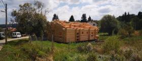 Изработка сглобяеми дървени ЕКО къщи в София-Горубляне