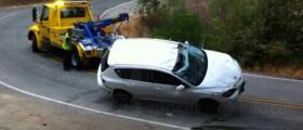 Изваждане на МПС от канавка в Монтана