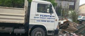 Извозване строителен отпадък София-Люлин