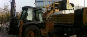 Извозване земни маси и строителен отпадък,доставка на инертни материали
