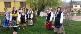 Лазарска и коледарска група в Чавдар-София