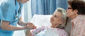 Медицинско обслужване на възрастни хора с физически увреждания