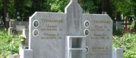 Надгробни паметници от Драгомиров във Варна