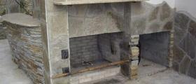 Обработка на скално-облицовъчни материали в село Лозен-София