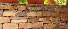 Обработка скално-облицовъчни материали в Кресна