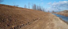 Почистване на речни корита в Русе
