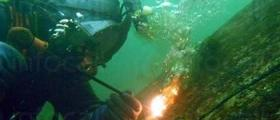 Подводно рязане и заваряване