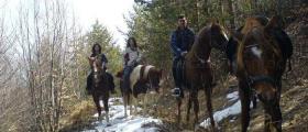 Преходи за конна езда в Бачево-Разлог-Банско - Русалиите