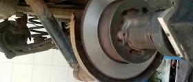 Престъргване дискове на автомобила без демонтаж в София-Красна поляна - Ашли ЕООД