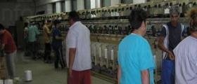 Пресукване на синтетични коприни в Ямбол