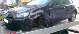 Превоз катастрофирали автомобили - автомагистрала Тракия