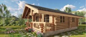 Продажба дървени сглобяеми къщи София-Горубляне - Норивахаус ООД