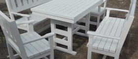 Производство дървени маси и пейки в Овча Купел