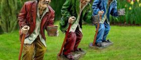 Производство на градински фигури в Севлиево