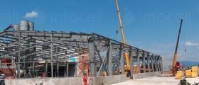 Промишлено строителство във Враца