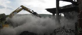 Разчистване на строителни площадки