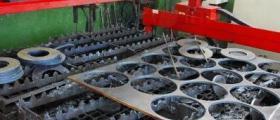 Разкрояване листова стомана в София-Надежда