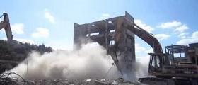 Разрушаване на сгради в София-Център