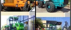 Рециклиране на трактори в Добрич
