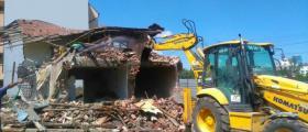 Събаряне на сгради в София
