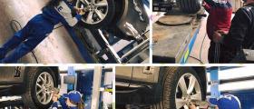 Смяна на гуми и джанти в Монтана