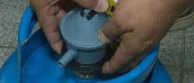 Смяна на вентили на газови бутилки в Бургас