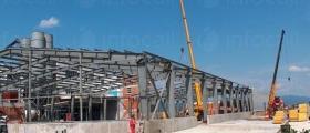 Строителство на промишлени сгради в Стара Загора