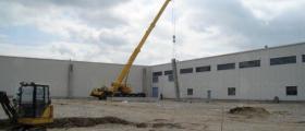 Строителство промишлени сгради в Севлиево - Стил 2002 ООД