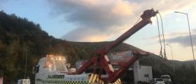 Тежкотоварна пътна помощ Автомагистрала Хемус, София, Мездра, Враца