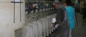 Въздушно точкуване на коприна в Ямбол