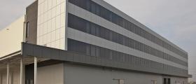 Вентилируеми фасади от керамика и алуминиеви композитни панели в София-Орландовци