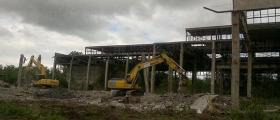 Заравняване на строителни площадки