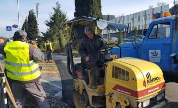 Асфалтиране и асфалт кърпежи в Бургас