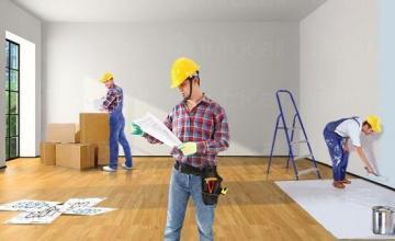 Довършителни строителни дейности в Разград
