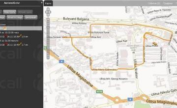 GPS контрол във Велико Търново - СОД - Царевец