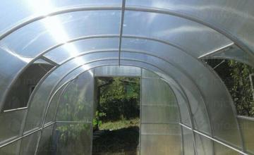 Изграждане и продажба на нови поцинковани оранжерии в Нови Искър