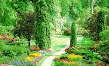 Изграждане на градини в Казанлък