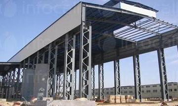 Изграждане на метални халета в Търговище - Джаул ЕООД