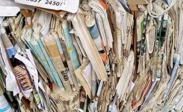 Изкупуване на отпадъчна хартия в Пазарджик