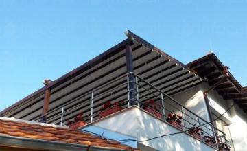 Изработка и монтаж на автоматични тенти тип пергола в Пловдив - Алу Груп