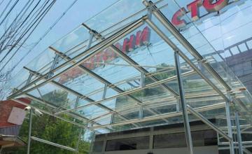 Изработка и монтаж на козирки в Пловдив - Алу Груп