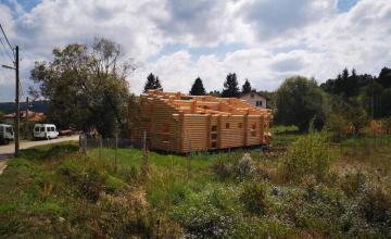 Изработка сглобяеми дървени ЕКО къщи в София-Горубляне - Норива екохаус ООД