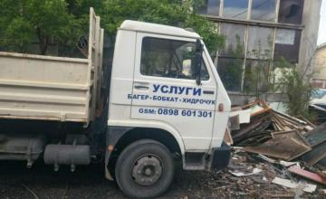 Извозване строителен отпадък