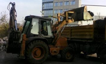 Извозване земни маси и строителен отпадък,доставка на инертни материали - Марис-МС ООД
