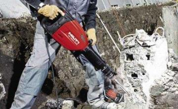 Къртене на бетон в Младост, Люлин и София-Център