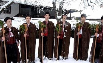 Коледуване в община Каварна - НЧ Народен будител 1940 Българево
